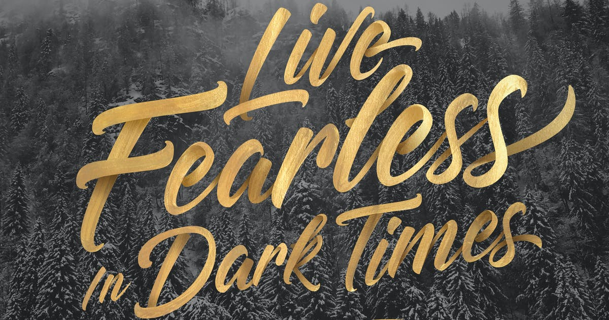 Live Fearless In Dark Times | Sermons | JosephPrince com