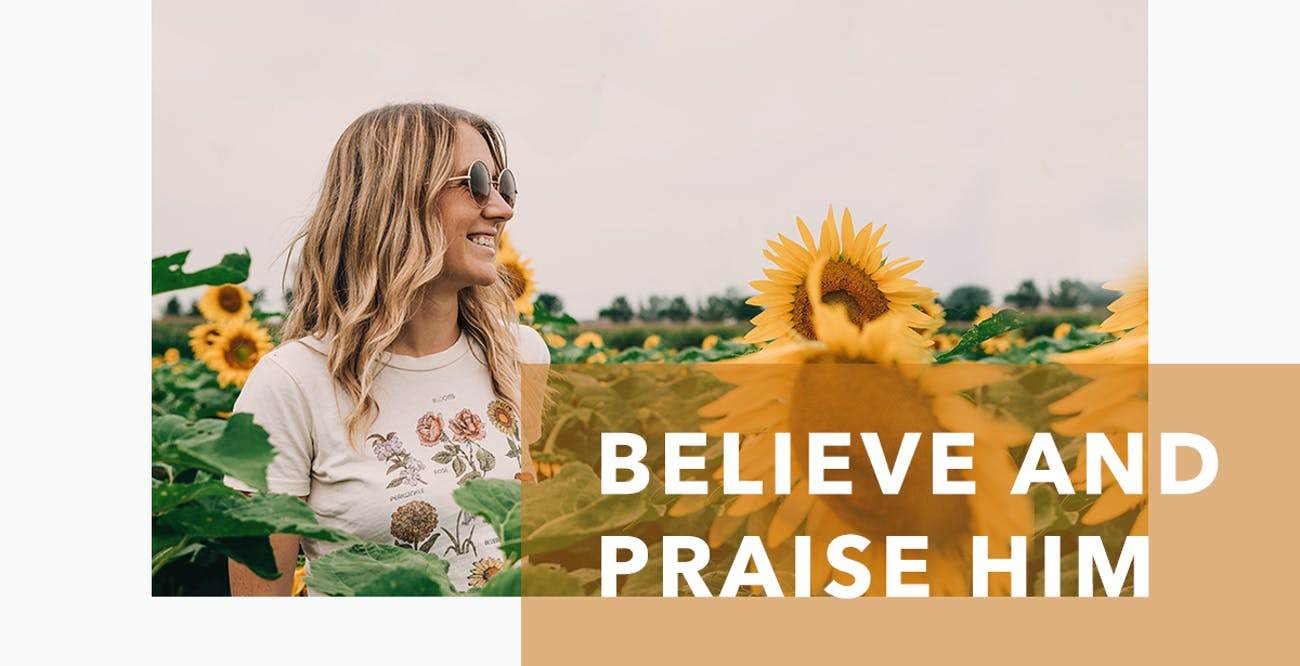 Joseph Prince Daily Devotional 6 August 2020 - Believe and Praise Him