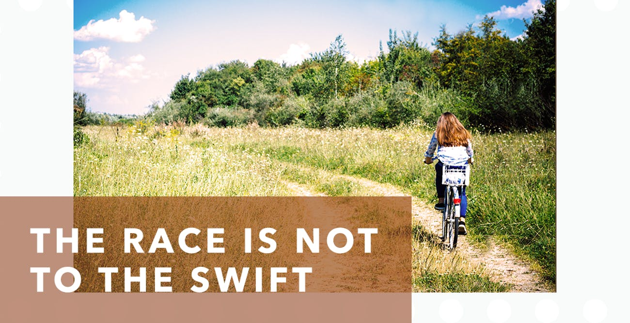 Joseph Prince Daily Devotional 9 August 2020 - The Race Is Not to the Swift
