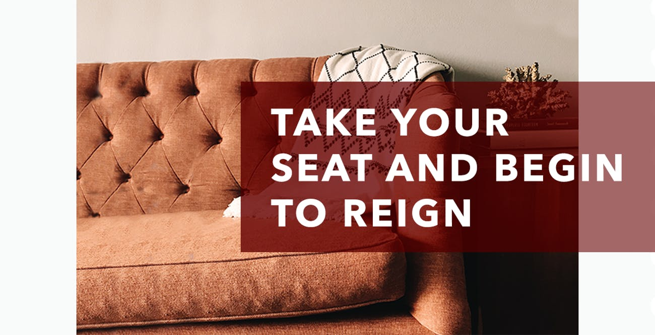 Joseph Prince Daily Devotional August 12, 2020 - Take Your Seat and Begin to Reign