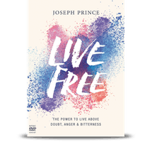Live Free —The Power To Live Above Doubt, Anger and Bitterness (3-DVD Album—NTSC)