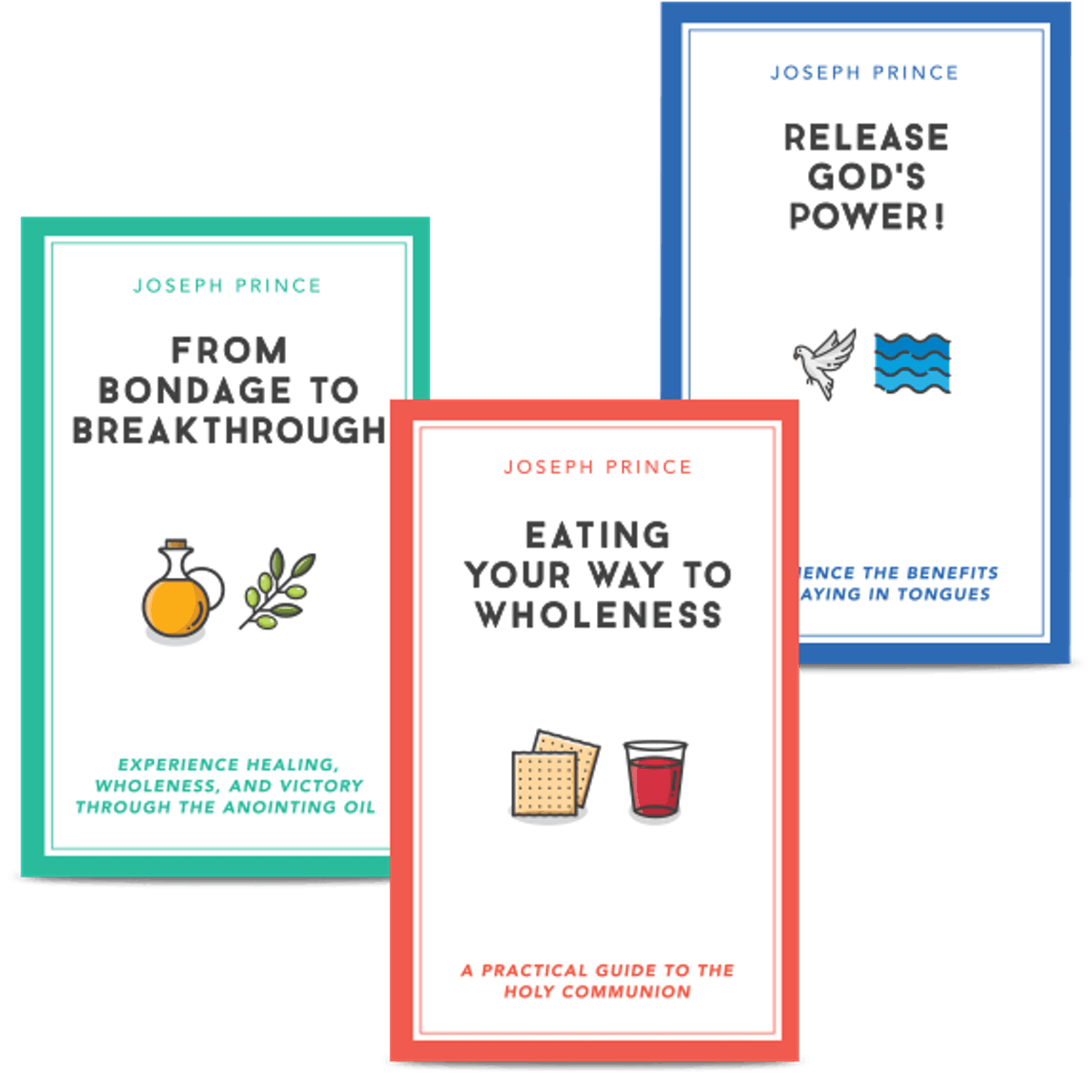 Book Set: 3 Powerful Provisions For Everyday Living