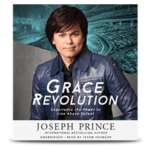 Grace Revolution–Experience The Power To Live Above Defeat (Audiobook)
